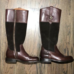 Frye Jaden Button Tall boots. Size 5 1/2. Awesome!